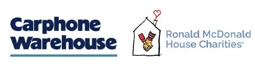 Carphone Warehouse and Ronald McDonald House Charities Logos